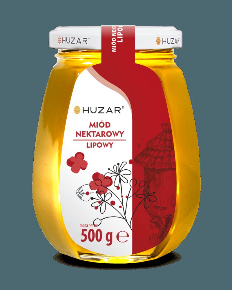 miód lipowy 500 g