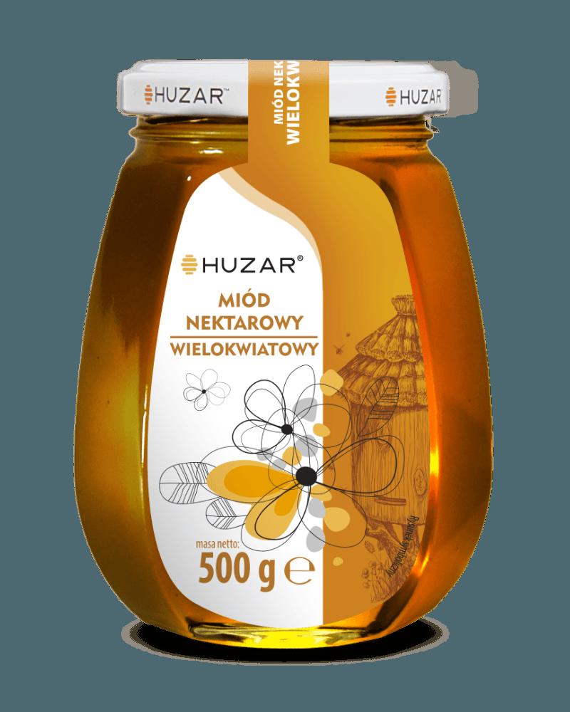 miód wielokwiatowy 500 gram